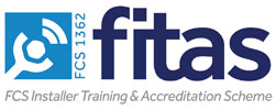 All JustCONNECT engineers are part of the FCS Installer Training & Accreditation Scheme
