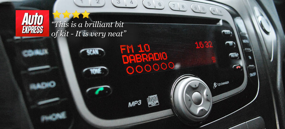 JustDRIVE digital radio for you car - JustDRIVE integrated into your existing car radio