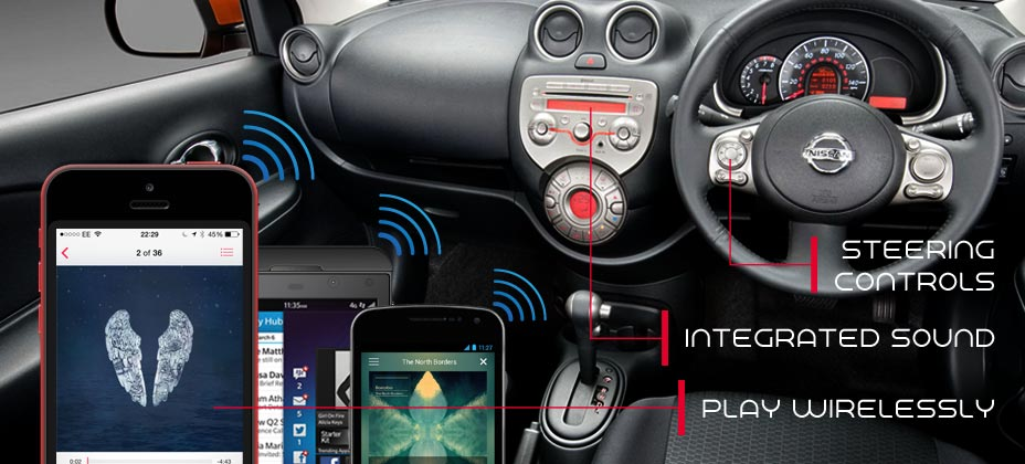 JustAIRPLAY Bluetooth music for you car