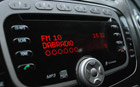 JustCONNECT JustDRIVE product image - displaying the digital radio on the vehicles radio display